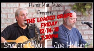 The Loaded Grape ~ Greensboro, NC (Duo Show) @ The Loaded Grape