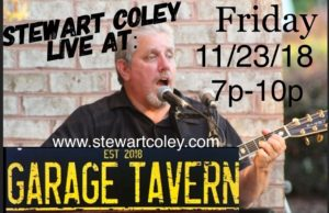 Garage Tavern ~ Greensboro, NC (Solo Show) @ Garage Tavern