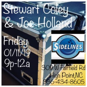 Sidelines Sports Grill ~ High Point, NC (Duo Show) @ Sidelines Sports Grill