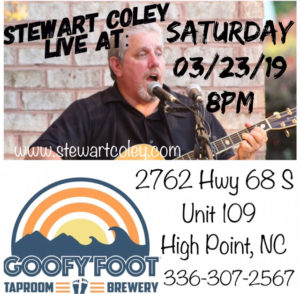 Goofy Foot Taproom ~ High Point, NC (Solo Show)