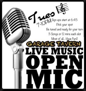 Garage Tavern ~ Greensboro, NC (Open Mic)